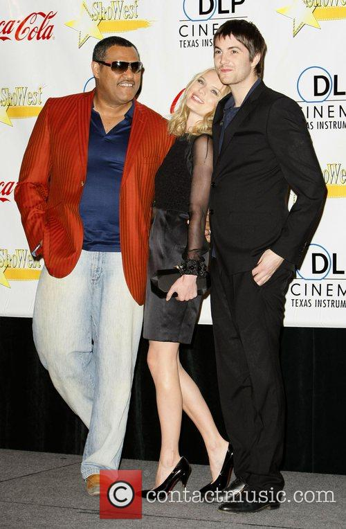 Lawrence Fishburne and Kate Bosworth 2