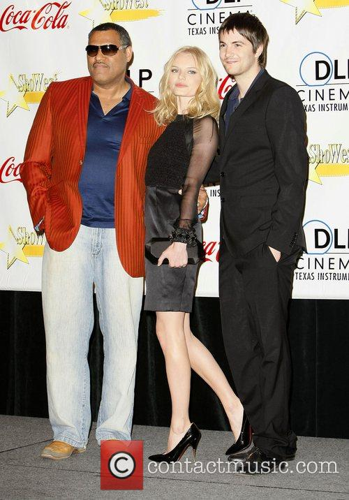 Lawrence Fishburne and Kate Bosworth 1