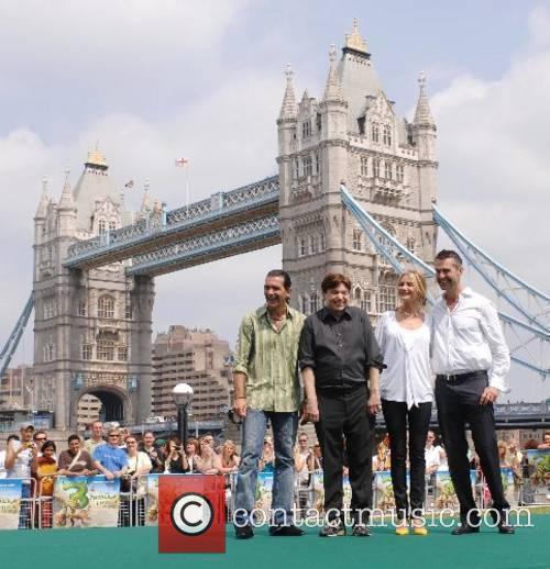 Antonio Banderas,Mike Myers,Cameron Diaz and Rupert Everett'Shrek the...
