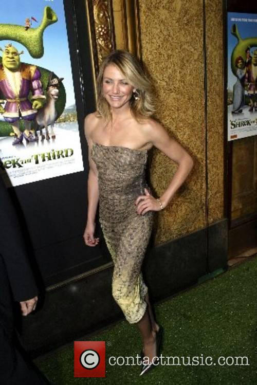 Cameron Diaz at the Australian premiere of Shrek...