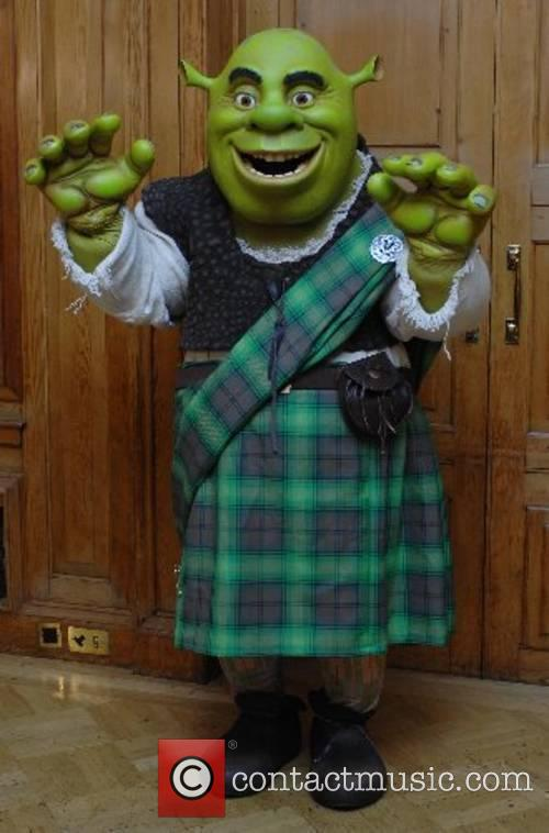 Shrek the Third Photocall held at the Dorchester...