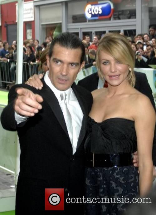 Antonio Banderas and Cameron Diaz