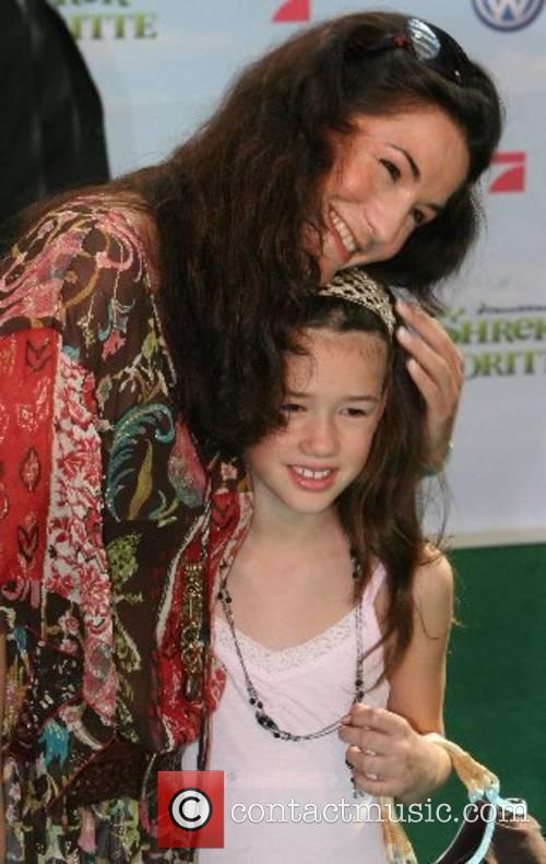 Mariella Ahrens and daughter German premiere of