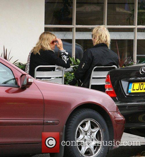 Sienna Miller and Rhys Ifans take Sienna's dogs Porgy...