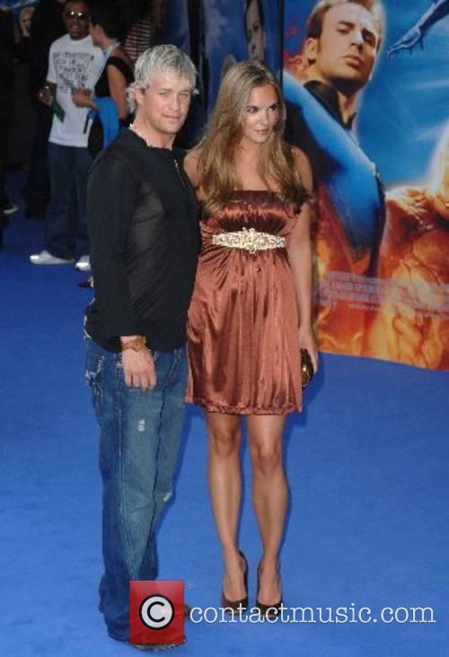 Jodi Albert and Kian Egan World Premiere of...