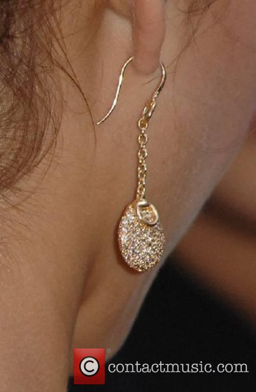 Jessica Alba wearing a Gucci earring World Premiere...