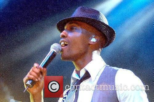 Simon Webbe performing live in concert at the...