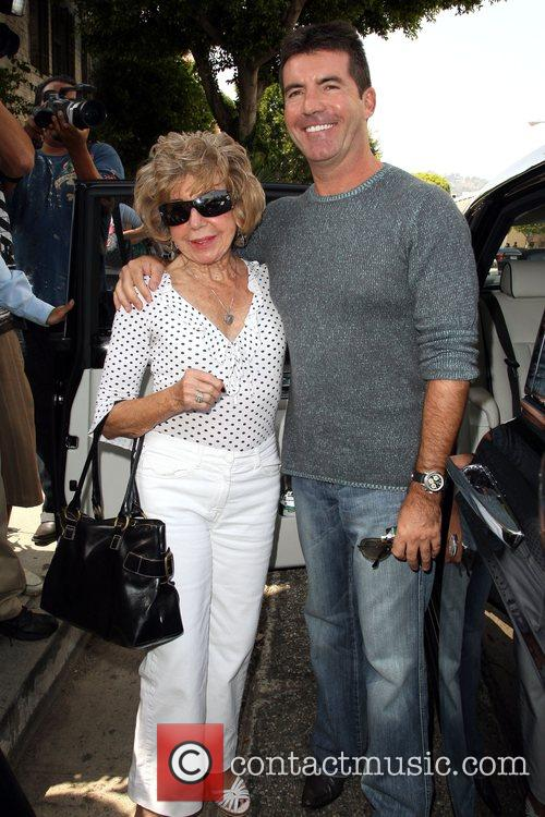 Simon Cowell and His Mother Julie Cowell 5