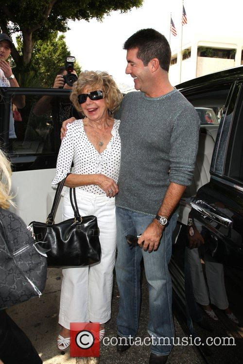 Simon Cowell and His Mother Julie Cowell 8