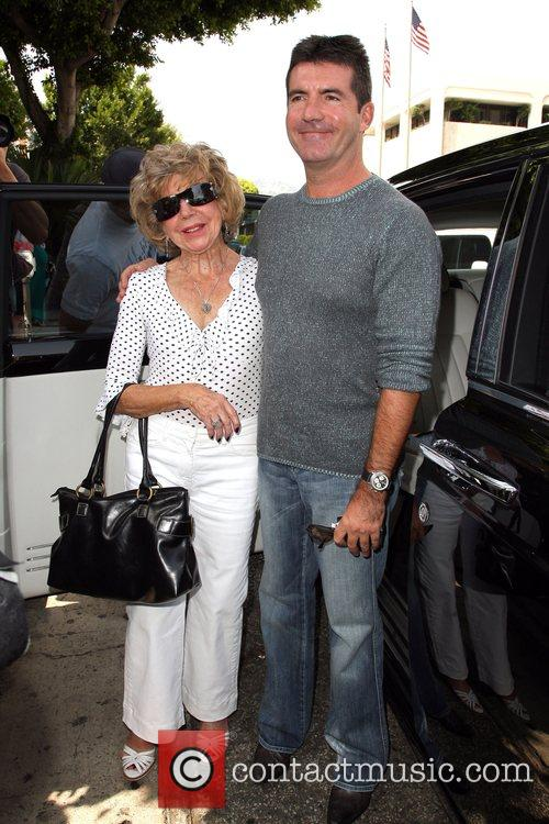 Simon Cowell and His Mother Julie Cowell 4