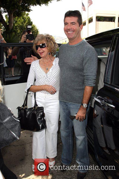 Simon Cowell and His Mother Julie Cowell 9
