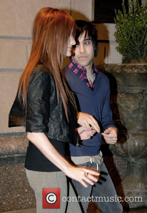 Ashlee Simpson and Pete Wentz 1
