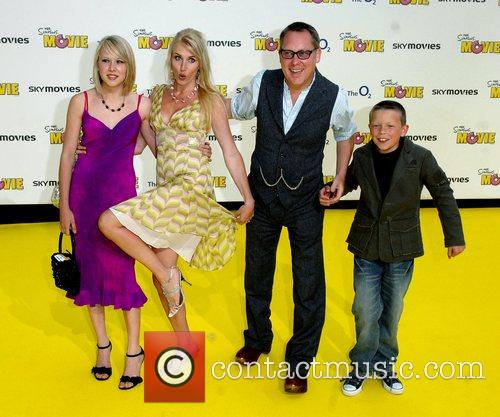Nancy Sorell and Vic Reeves 'The Simpsons Movie'...