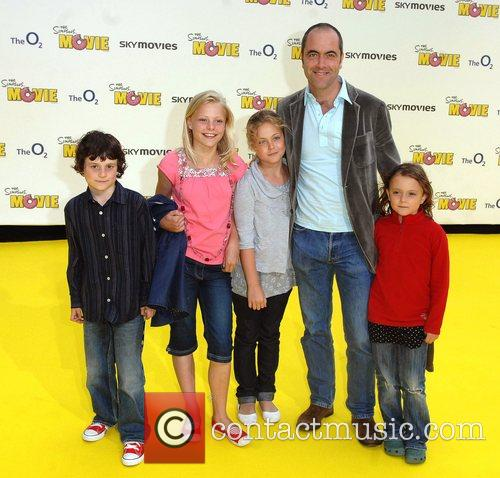 'The Simpsons Movie' UK premiere
