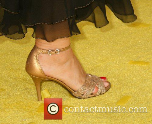 Yeardley Smith's shoe 'The Simpsons Movie' World Premiere...