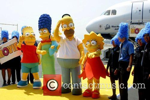 The Simpsons, Burbank Airport