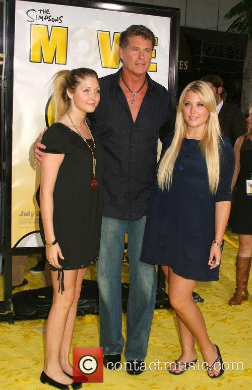 Hayley Hasselhoff, David Hasselhoff and Taylor Hasselhoff 'The...
