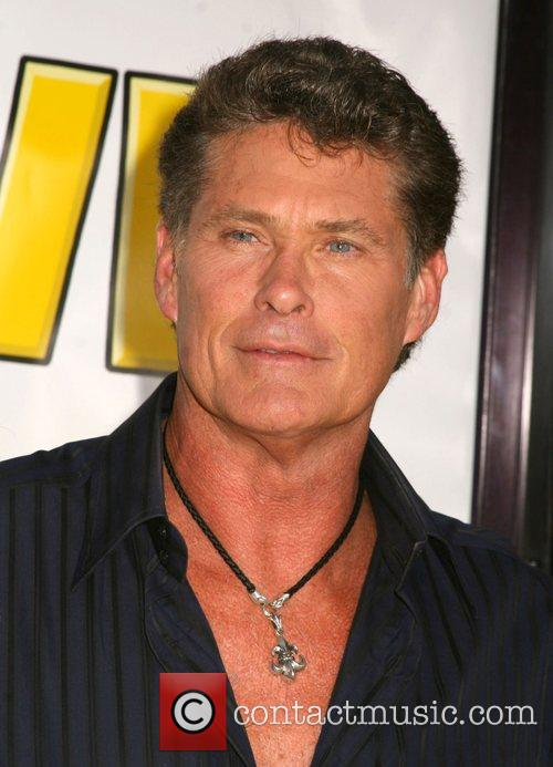 David Hasselhoff 'The Simpsons Movie' World Premiere -...