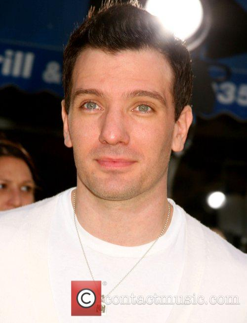JC Chasez 'The Simpsons Movie' World Premiere -...