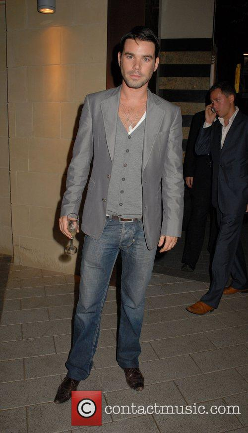 Dave Berry,  The Simpsons Movie' UK premiere...
