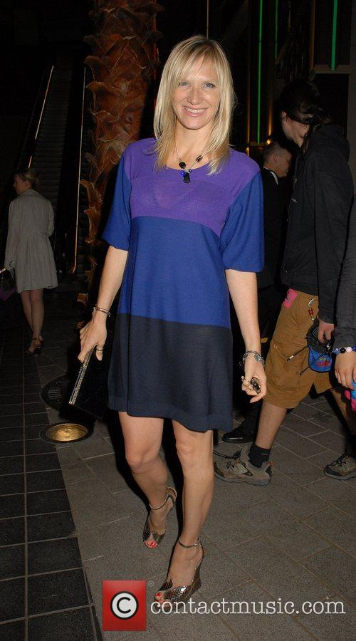 Jo Whiley,  The Simpsons Movie' UK premiere...