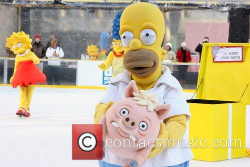 Homer Simpson, The Simpsons, Bryant Park
