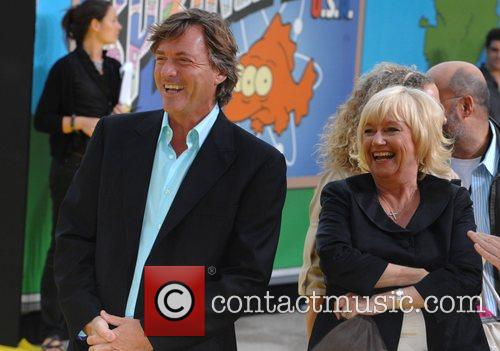 Richard Madeley and Judy Finnigan watching their daughter...