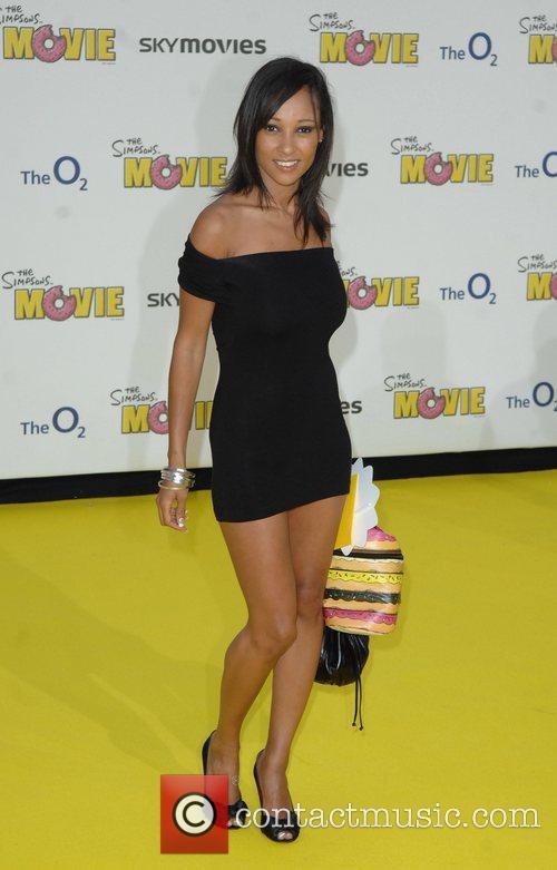 Lisa Maffia 'The Simpsons Movie' UK premiere...