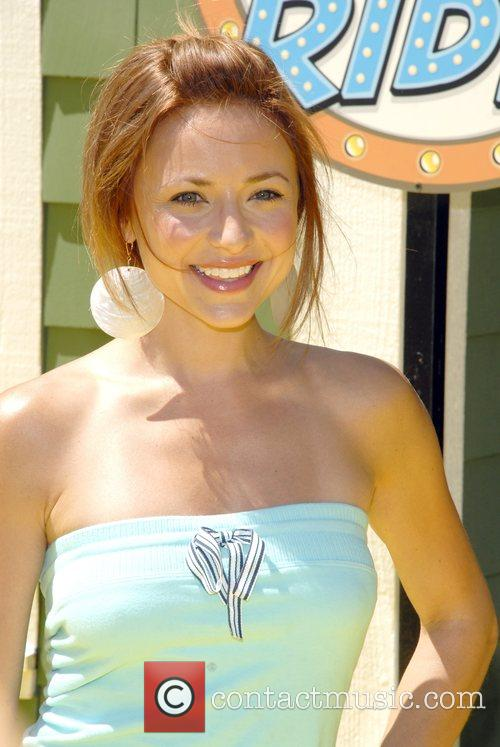 Christine Lakin The Simpsons ride opens at Universal...