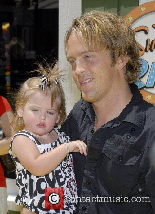Larry Birkhead and daughter Dannielynn  The Simpsons...