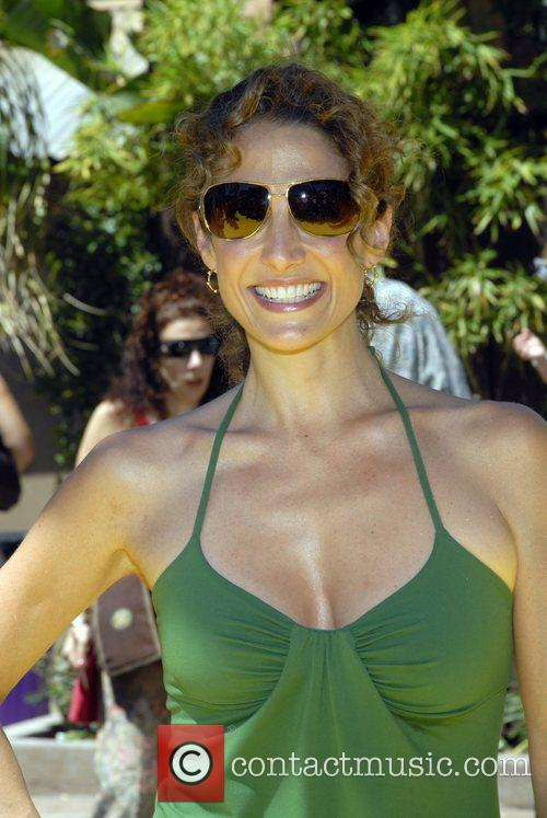 Melina Kanakaredes The Simpsons ride opens at Universal...