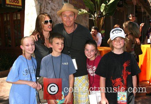 Amanda Pays & Corbin Bernsen and family The...