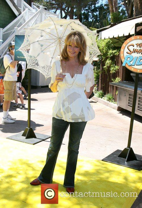 Deidre Hall The Simpsons ride opens at Universal...
