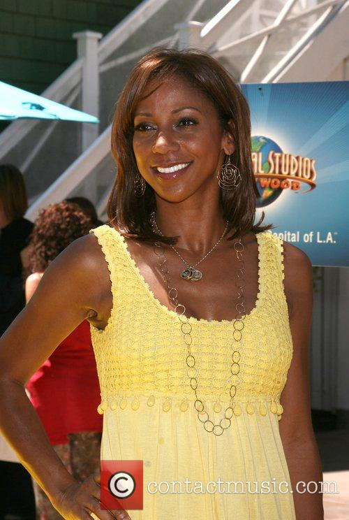 Holly Robinson Peete The Simpsons ride opens at...