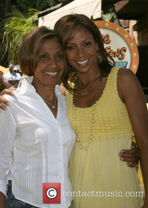 Holly Robinson Peete and Her mother Delores Robinson...