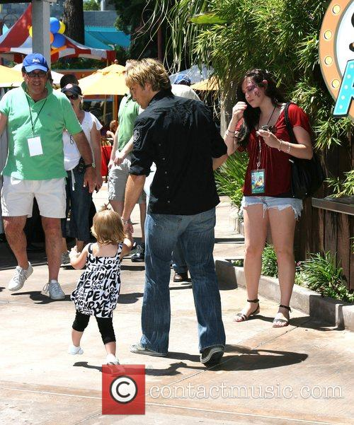 Larry Birkhead and daughter Dannielynn Smith The Simpsons...