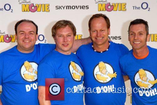 'The Simpsons Movie' UK premiere at Vue Cinema...