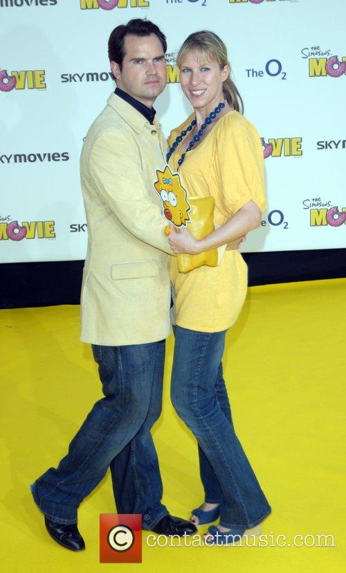 Jimmy Carr and guest 'The Simpsons Movie' UK...