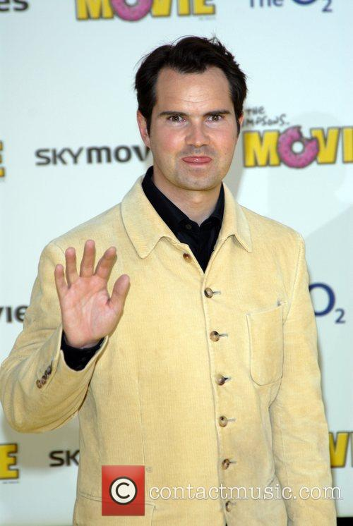 Jimmy Carr 'The Simpsons Movie' UK premiere at...