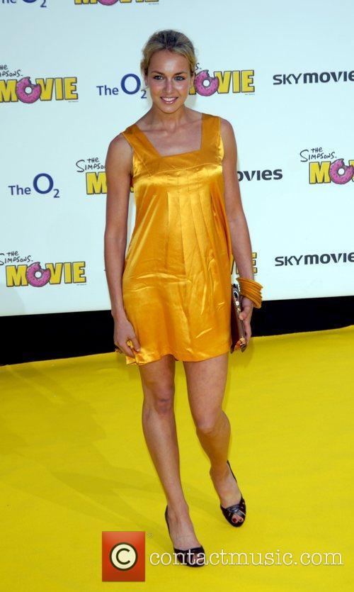 Lady Isabella Hervey  'The Simpsons Movie' UK...