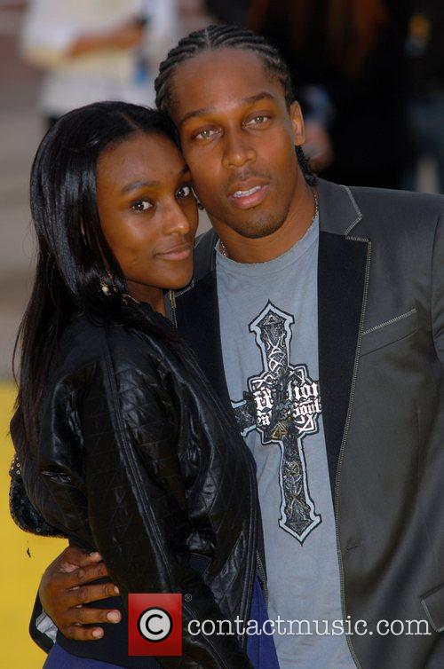 Lemar and Guest 'The Simpsons Movie' UK premiere...