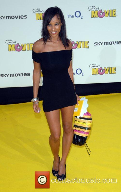 Lisa Mafia 'The Simpsons Movie' UK premiere at...