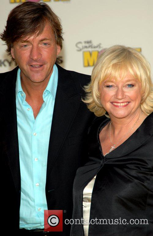Richard Madeley and Judy Finnigan 'The Simpsons Movie'...