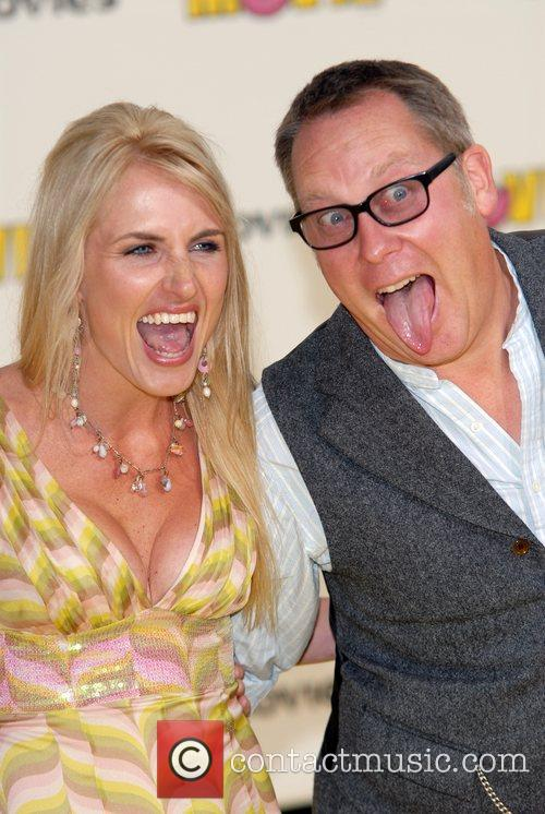 Nancy Sorrell & Vic Reeves 'The Simpsons Movie'...