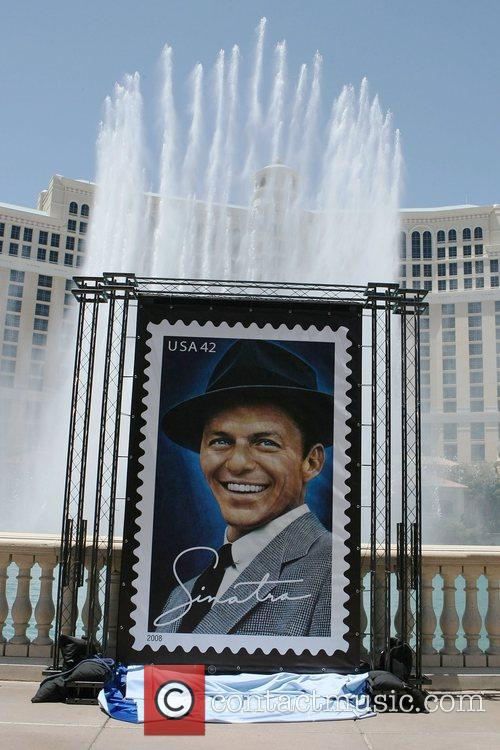 Atmosphere Unveiling of the Frank Sinatra stamp in...