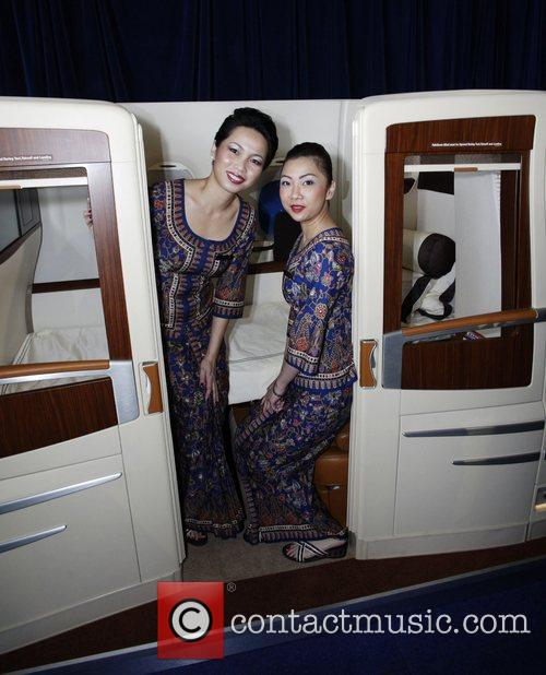 Singapore Airlines flight attendants Mary Chieng and Hooi...