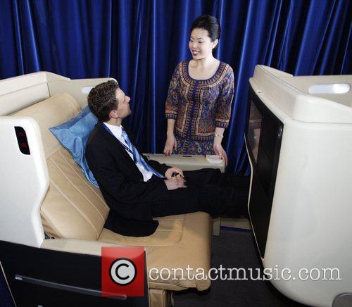 Singapore Airlines flight attendant Pauline Choong and Sebastian...