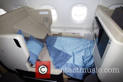 Singapore Airlines  Business Class seating and sleeping...