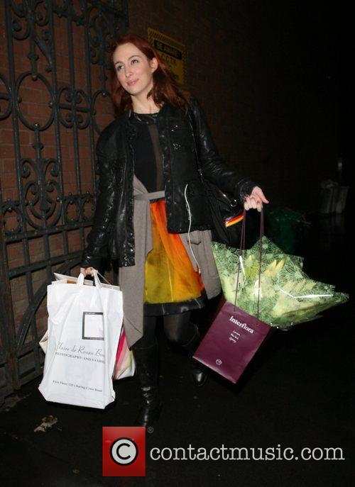 Ex Sugababe Siobhan Donaghy leaving the Duke of...