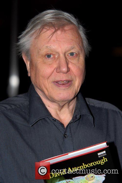 David Attenborough book